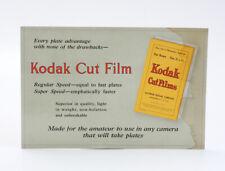 KODAK CARDBOARD SIGN FOR CUT FILM/cks/200302