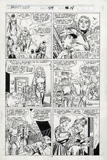 MIGHTY THOR #419 pg 14 original comic art - Ron Frenz & Joe Sinnott
