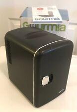 Gourmia GMF600 Mini Fridge 6 Can Cooler & Warmer Compact & Portable Black