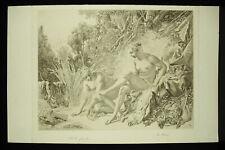 A Bessé c1924 Diane au bain d'ap François BOUCHER belle épreuve état de gravure