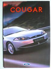 Prospekt Ford Cougar zur Premiere, 2.1998, 16 Seiten, folder, innen wie Poster