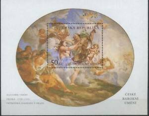Czech Republic 2001 Baroque Art, Fresco, Reiner MNH**