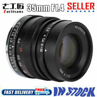 7artisans 35mm F1.4 Full Fame Lens for Sony Emount A7 A7II A7R A7S A6500 A6300