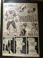 MARSHALL ROGERS - Howard The Duck Original Art #8 (magazine) RARE!!!