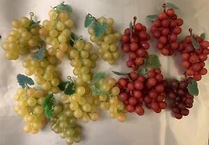 One Small Decorative Plastic Grape, Please select The Colour