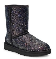 Ugg Australia Classic Short Black Cosmos Boots Size 7