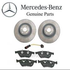 For Mercedes W164 ML63 AMG Set of Front Brake Disc & Pads w/ Sensor Genuine