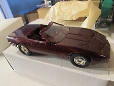 Dealer Promo 1988 Corvette Dark Red
