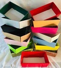 HAMPER TRAY GIFT BOXES DIY CHRSMAS Easter Gift Sweet Cardboard CHOOSE COLOUR