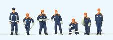 Preiser 10719 H0 Figure 1:87 Pompieri junior nuovo in confezione originale