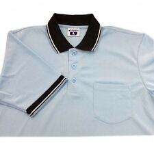 Champro Dri-Gear Umpire Polos Light Blue L