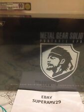 PSP  METAL GEAR SOLID: PORTABLE OPS PREMIUM PACK #1299/2500  VGA 90 ARCHIVAL