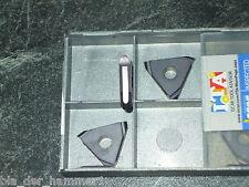 3 Iscar Stechplatten 3,3mm R1,65 IC950