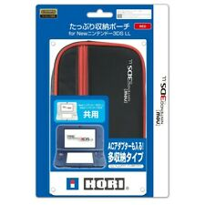 Hori Big Pouch Case Red for Nintendo 3DS LL XL