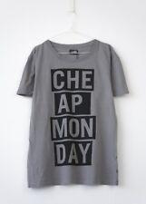 HOF115: Cheap Monday Tor cheap frames tee grey / T-shirt grau baumwolle XL