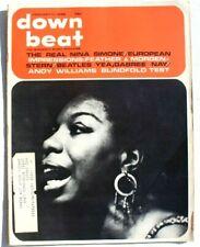 Vtg January 11, 1968 DOWN BEAT (Nina Simone / The Beatles) Music MAGAZINE