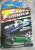 HOT WHEELS - FAST AND FURIOUS - 72 FORD GRAND TORINO SPORT - VOITURE