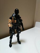 Gi Joe Classified Custom 6inch Battle Damaged Snake Eyes