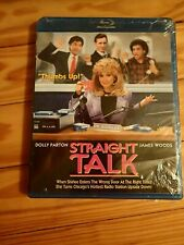 Straight Talk (1992) Dolly Parton James Woods BLU RAY NEW