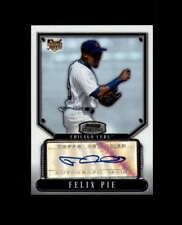 Felix Pie 2007 Bowman Sterling Autograph Signed Cubs