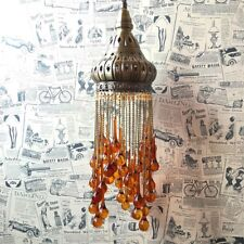 Vintage Ethnic Turkish Lighting Bohemian Chandelier Pendant Lamp For Living Room