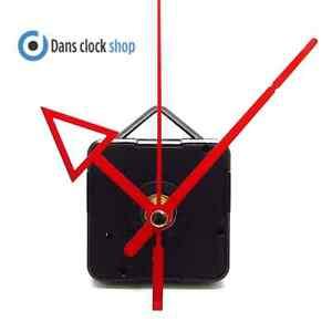 New Quartz Clock Movement Mechanism Motor & 85mm Novelty Red Arrow Metal Hands