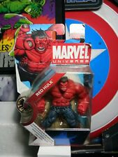 """Red Hulk Marvel Universe Series 1 Action Figure 028 by Hasbro 3.75"""" Inches"""