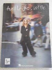 Avril Lavigne Let Go 13 Songs Voice Piano Guitar Unmarked