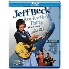 "JEFF BECK ""ROCK'N'ROLL PARTY - HONOURING.."" BLU RAY NEU"