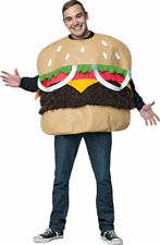 Morris Costume Men's Humorous Fur Burger Humorous Adult Costume One Size. GC6966