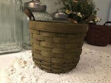 Longaberger Fruit Basket - 2008 Olive