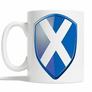 Scottish Flag Mug Coffee Cup Gift Idea Scotland Rugby Sports 6 Nations JA117