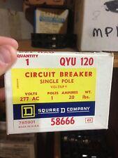 Square D 20A 120V 1 pole