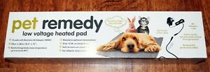 Pet Remedy Electrically Heated Pet Pad for Dog Rabbit Cat Low Voltage Warming