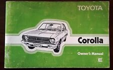 Toyota Hiace YH50 1983-85 model owners manual