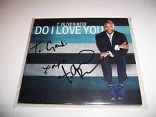 RARE Autographed T. Oliver Reid Do I Love You CD Case - NO CD