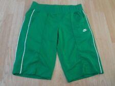 Women's Nike M(8/10) Green & White Shorts
