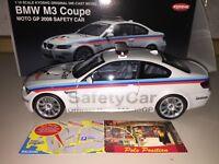 KYOSHO 1 18 BMW M3 E92 MOTOGP 2008 SAFETY CAR PEARL WHITE  NEW SHIP. WORLDWIDE