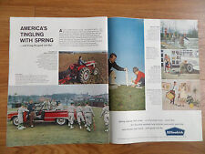 1960 B F Goodrich Tire Ad 1960 Ford Sunliner Convertible