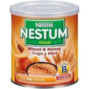 Nestle Nestum Breakfast Cereal, Wheat & Honey, 10.5 Oz - ( Pack of 3 )