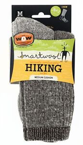 Smartwool Unisex Hike Medium Cushion Crew Socks Brown Size M (6-8.5), W (7-9.5)