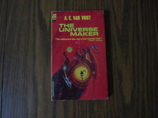 A.E. VAN VOGT THE UNIVERSE MAKER 1953 ACE BOOKS