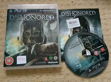 DISHONORED  - Rare Sony PS3 Game