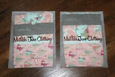 2 NEW Matilda Jane So Campy Full Size Pillow Cases NWT