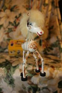 PELHAM PUPPETS Marionette STRING Puppet BABY Foal HORSE w/ Box SWEET No Tangles