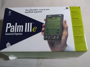 NEW Open Box Vintage 3Com Palm IIIe (III E / 3E / 3 E) Connected Organizer PDA