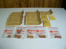 Vintage Lowrey Organ Repair Parts Couplets New Old Stock 24 Pcs Price Reduced