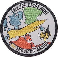 Aufnäher Patch AG 52 1. Staffel TAC RECCE SQN 100 Missions Baltic .......A2204