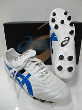 ASICS scarpe calcio mod.NIPPON NR tacch.fissi col.BIANCO/AZZURRO n.39,5 ann.2010