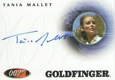Tania MALLET + + AUTOGRAPHE + + JAMES BOND + + 007 + + Bond girl + + Goldfinger